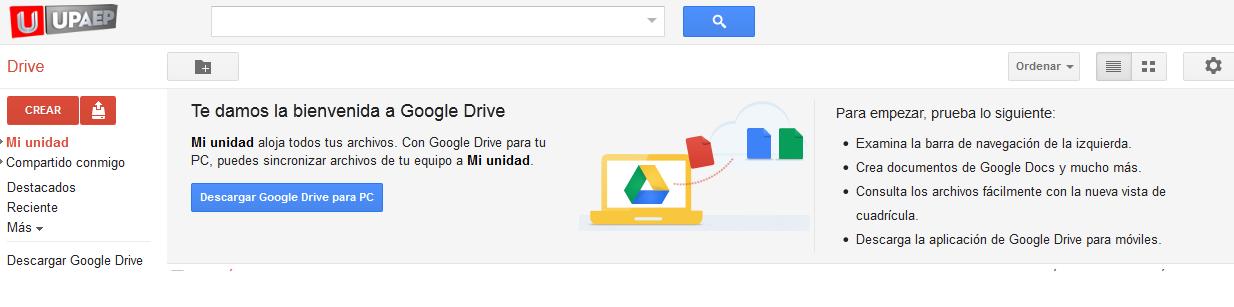descargar google drive en mi pc